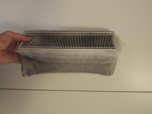 problemi di inquinanti in casa - filtro dopo 6 mesi